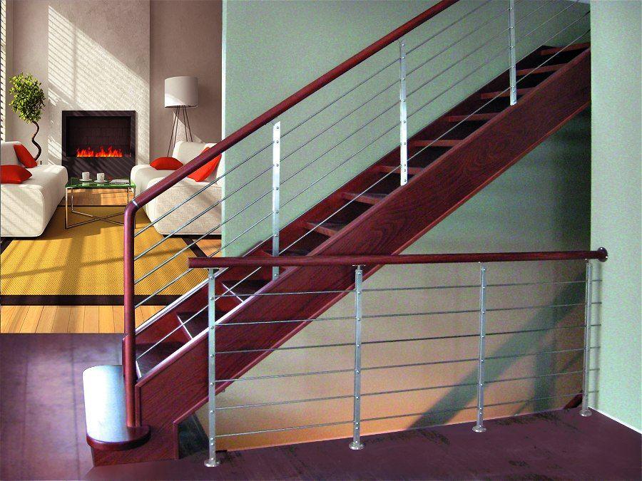 Scale per interni a giorno in legno modello quarzo scala - Scala interna design ...