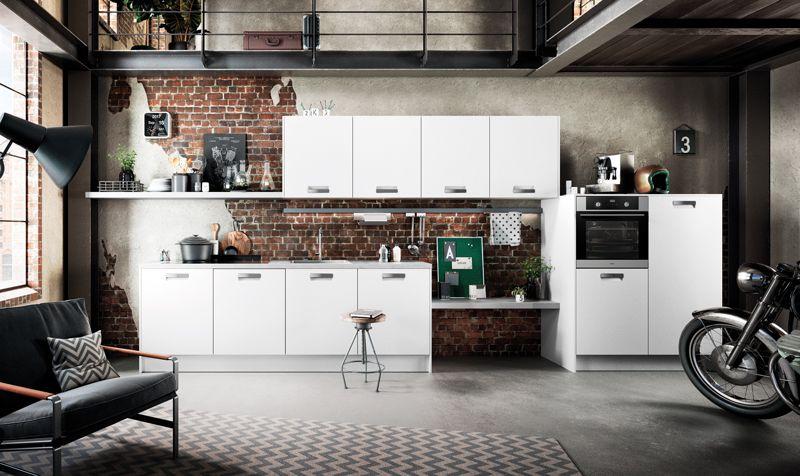 Wit Stoere Keuken : Industrieel wit voor een stoere look in je keuken kom voor de