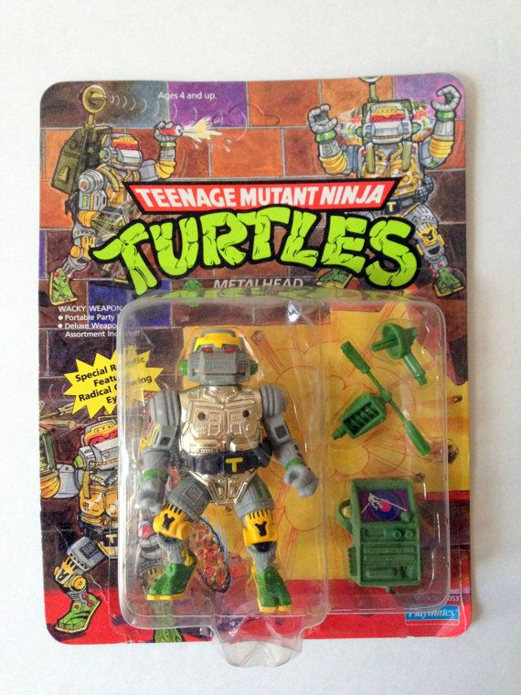 Teenage Mutant Ninja Turtles:1989:Accessory:Metalhead BACKPACK