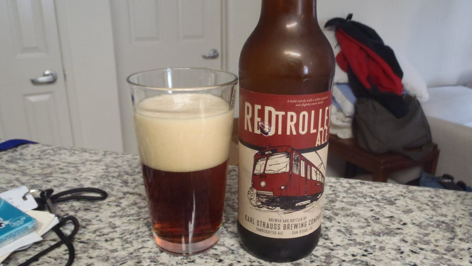 Red Trolley Ale - The best Irish red beer I've had since my last trip to Europe was at my local supermarket!