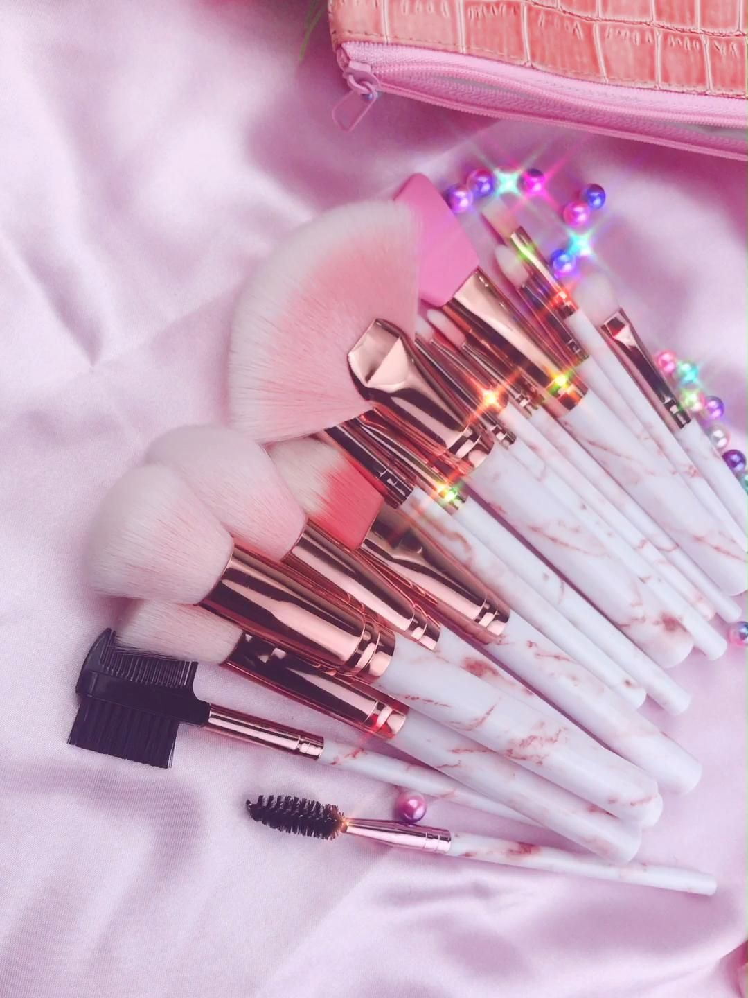 Photo of makeup brushes