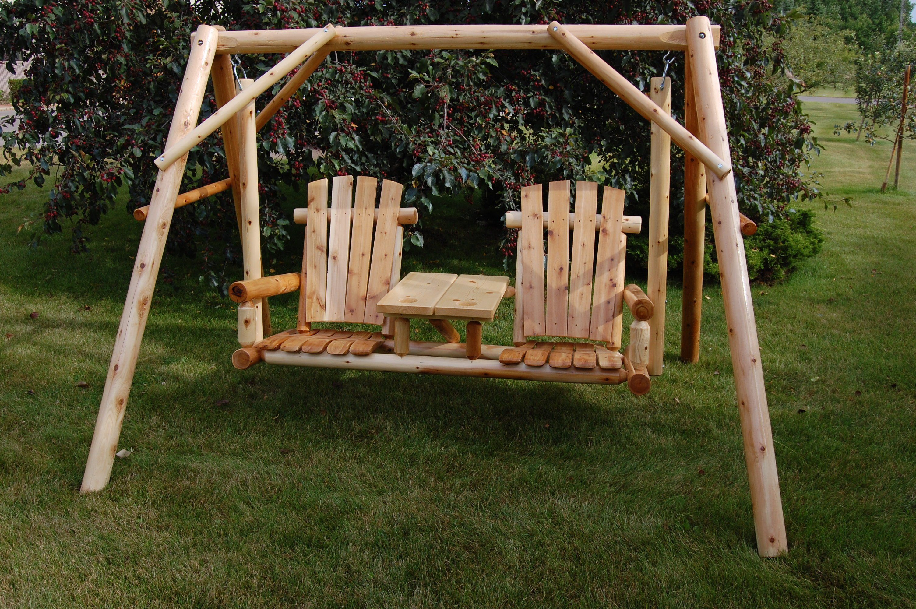 Moon valley rustic teteatete swing canopy sold separately