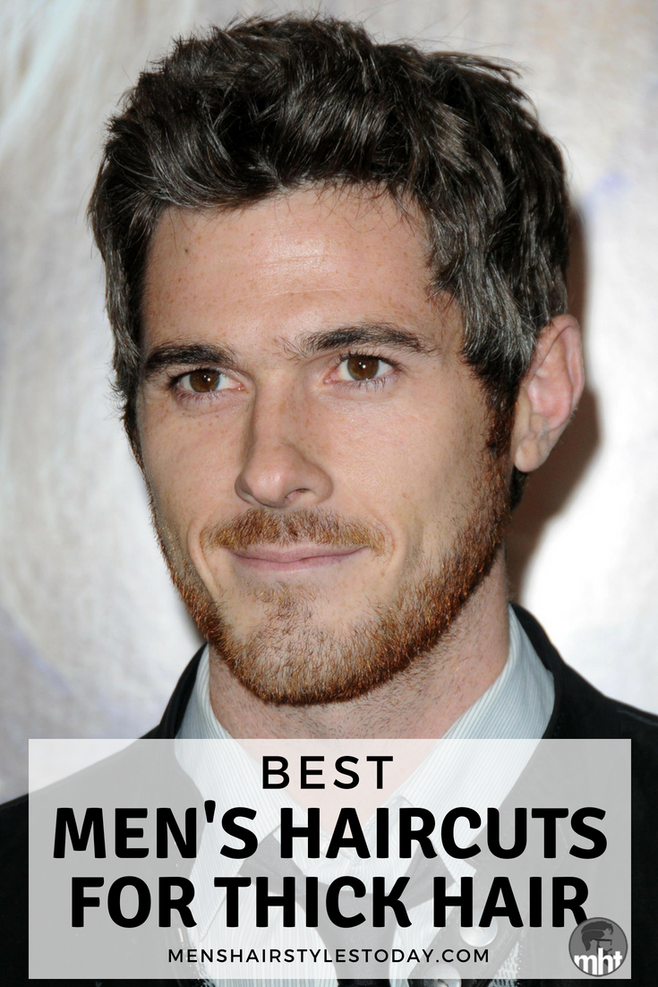 27 Best Hairstyles For Men With Thick Hair Best Hairstyles For Men