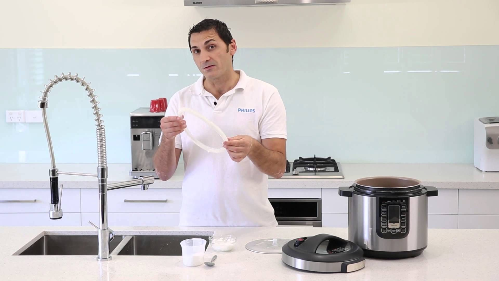 Philips Hd2137aio Cleaning The Gasket Cleaning Philips Pressure Cooking