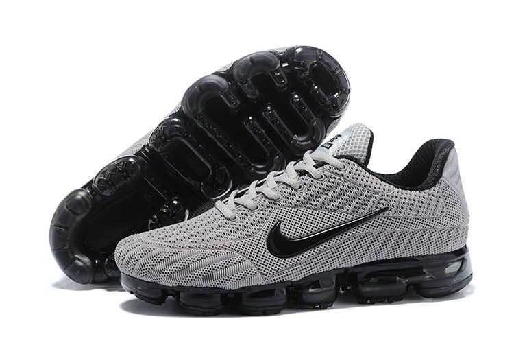 more photos 2ccf2 d92e3 Cheap Nike Air Vapormax Flyknit Kpu Mens Shoes Grey Black
