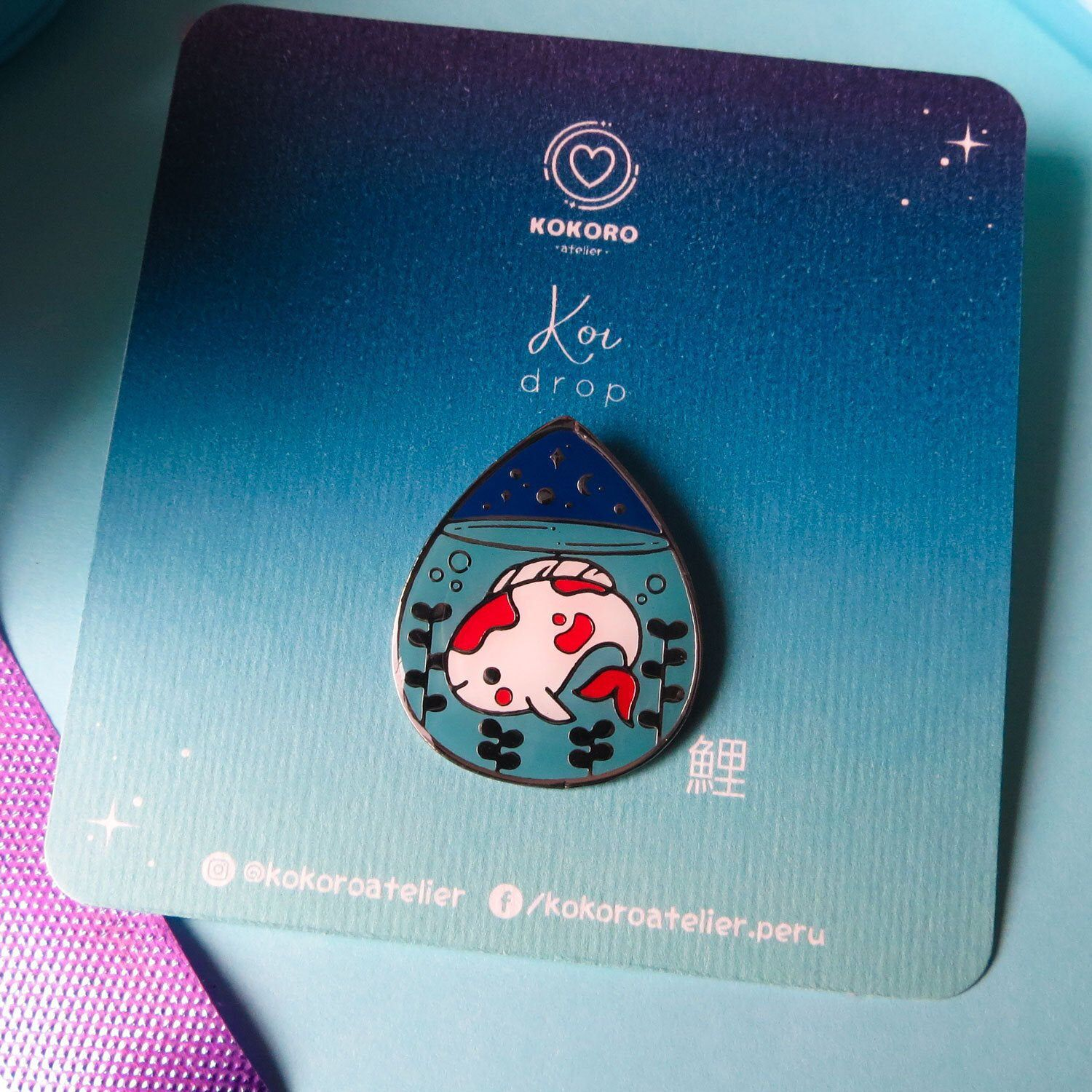 J IS FOR JELLYFISH ENAMEL LIMITED EDITION PIN BY VUDUBERI