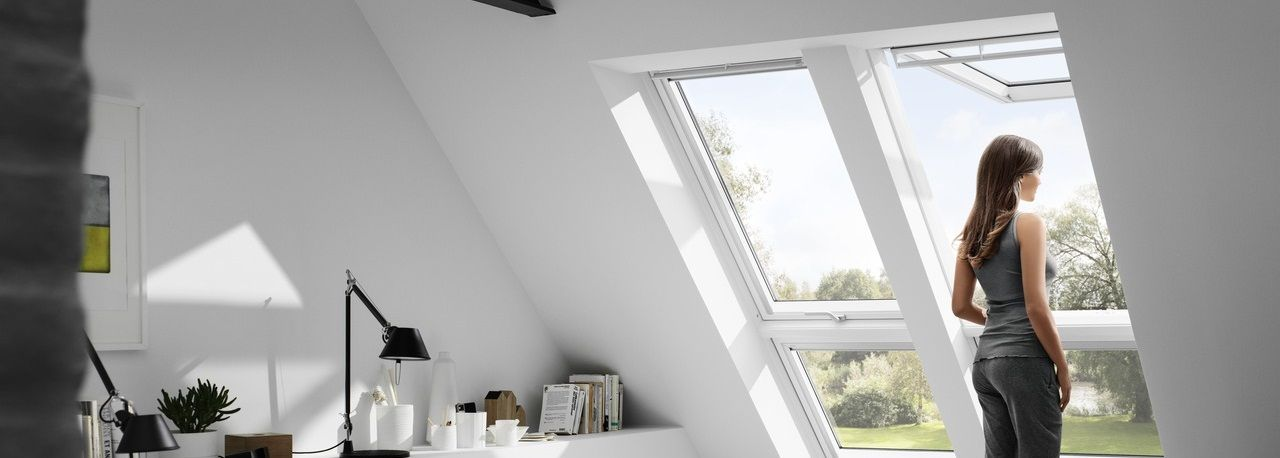 VELUX Top Hinged Roof Windows High Knee Walls (With