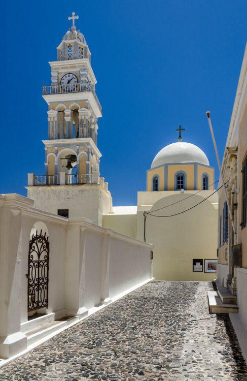 Santorini Church, Greece