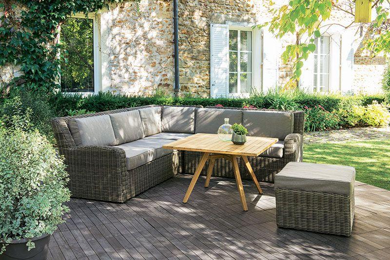 Canapé REGGAE | Vivre au jardin | Jardinerie truffaut, Truffaut et ...