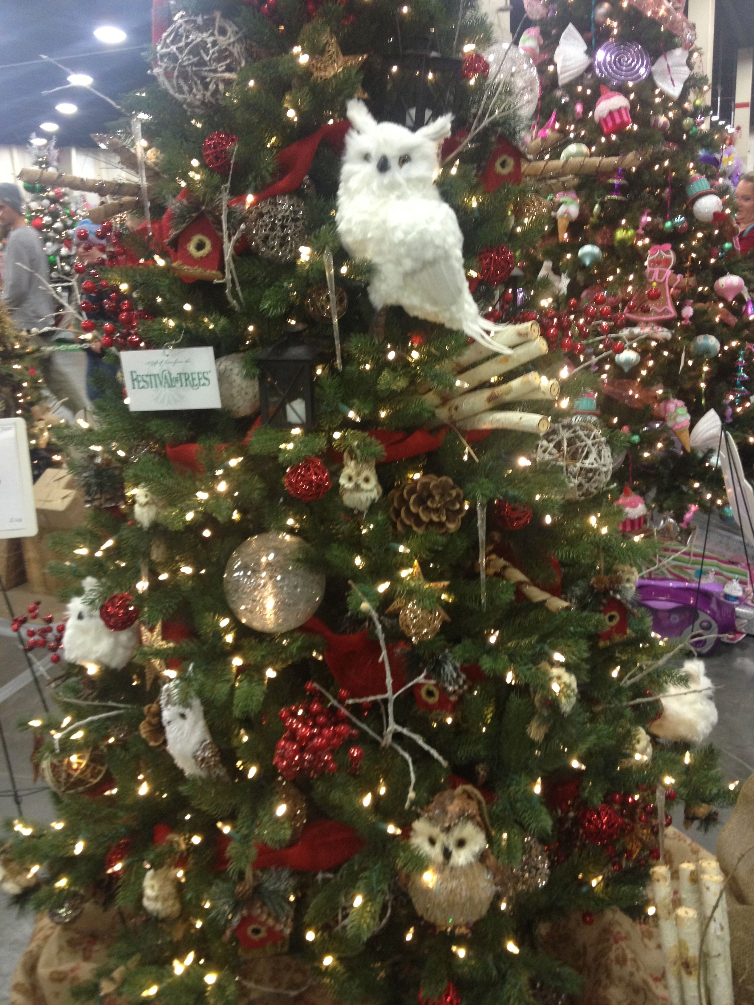 Woodland Critter Christmas Tree From The Utah Festival Of Trees