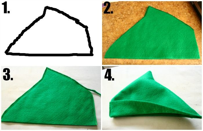 image about Peter Pan Hat Pattern Printable identified as Peter Pan Gown Components Tutorials Halloween Do it yourself