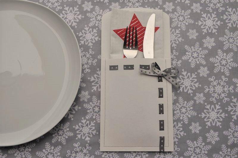 Bestecktaschen Basteln bestecktasche aus snappap nähen weihnachtszeit