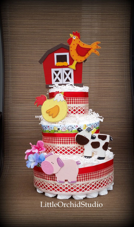 Barnyard baby shower/ Farm friends/ Farm animals/ Barnyard baby ...