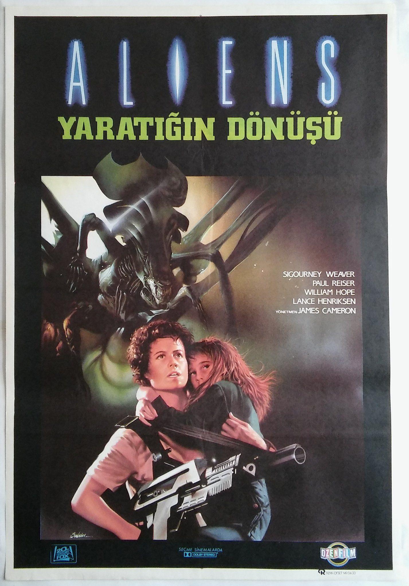 Aliens (1986) via Turkey Libros, Compras