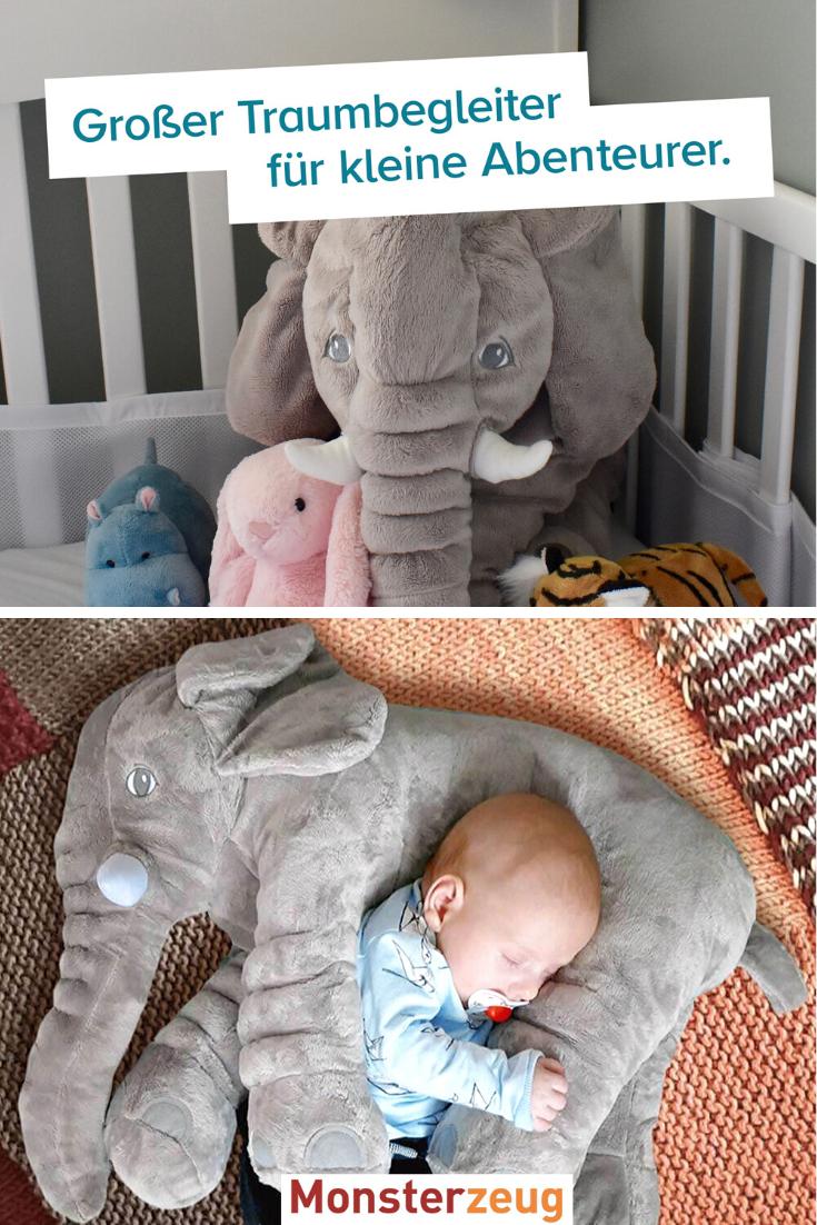 Baby Kuschelkissen Elefant Elefantenkissen Elefanten Kissen Kuschelkissen