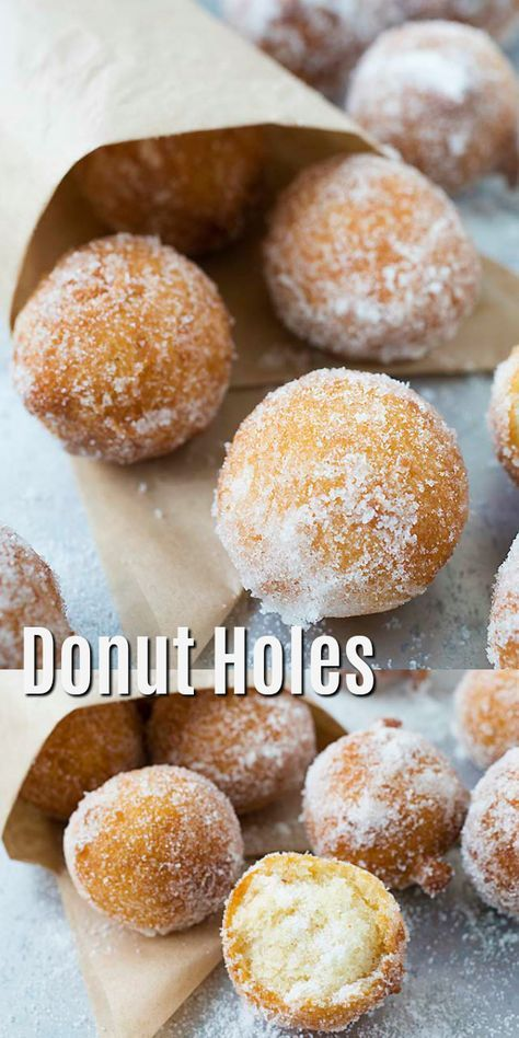 Donut Holes - super easy recipe that takes only 20 mins, fail-proof and must try. These donut holes are so good | rasamalaysia.com