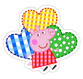 Peppa Pig SVG PNG EPS Ai Vector files Digital Peppa Pig