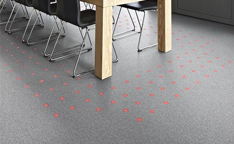Philips And Desso Luminous Carpets How To Apply