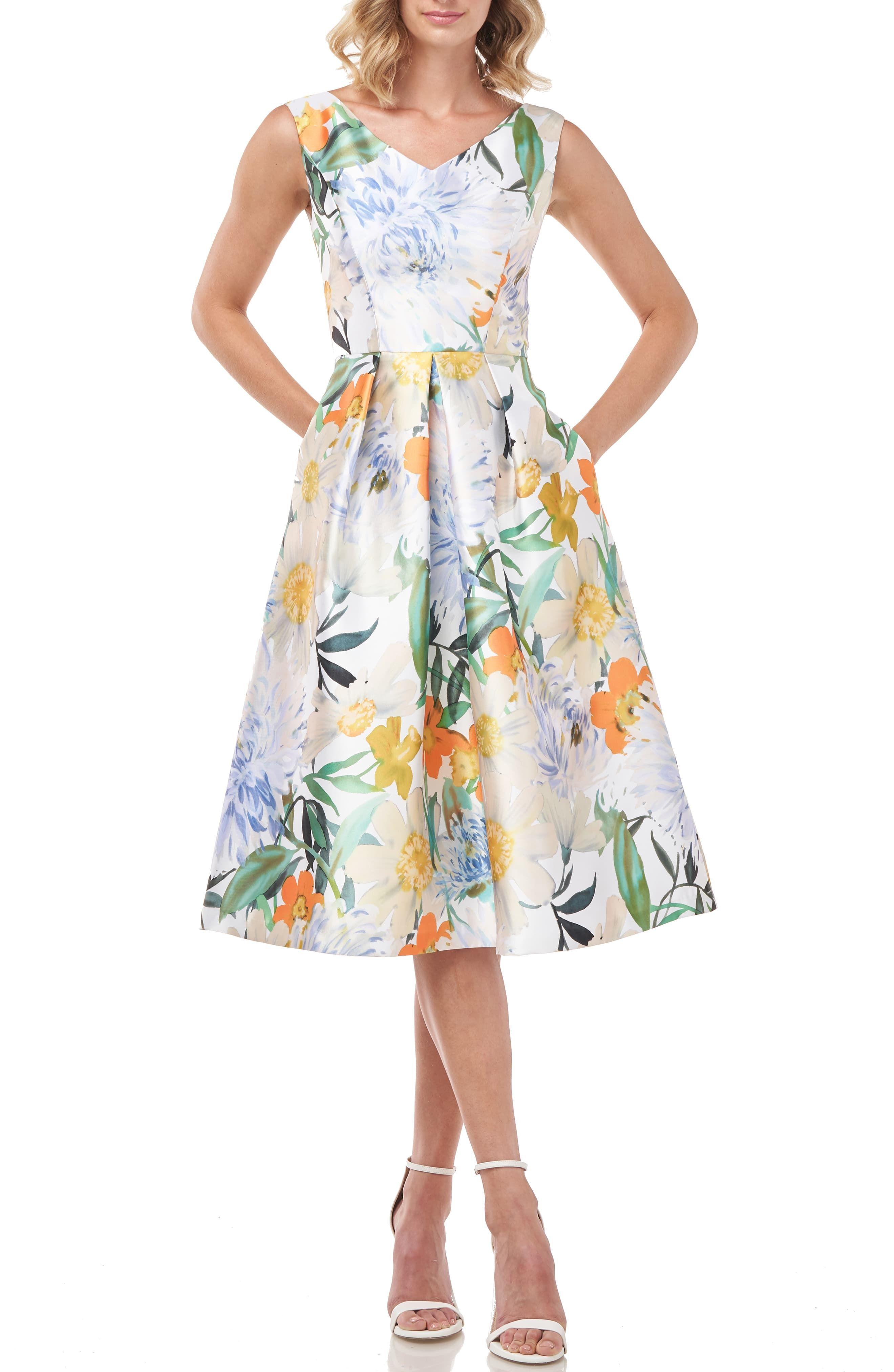 29++ Floral cocktail dress ideas
