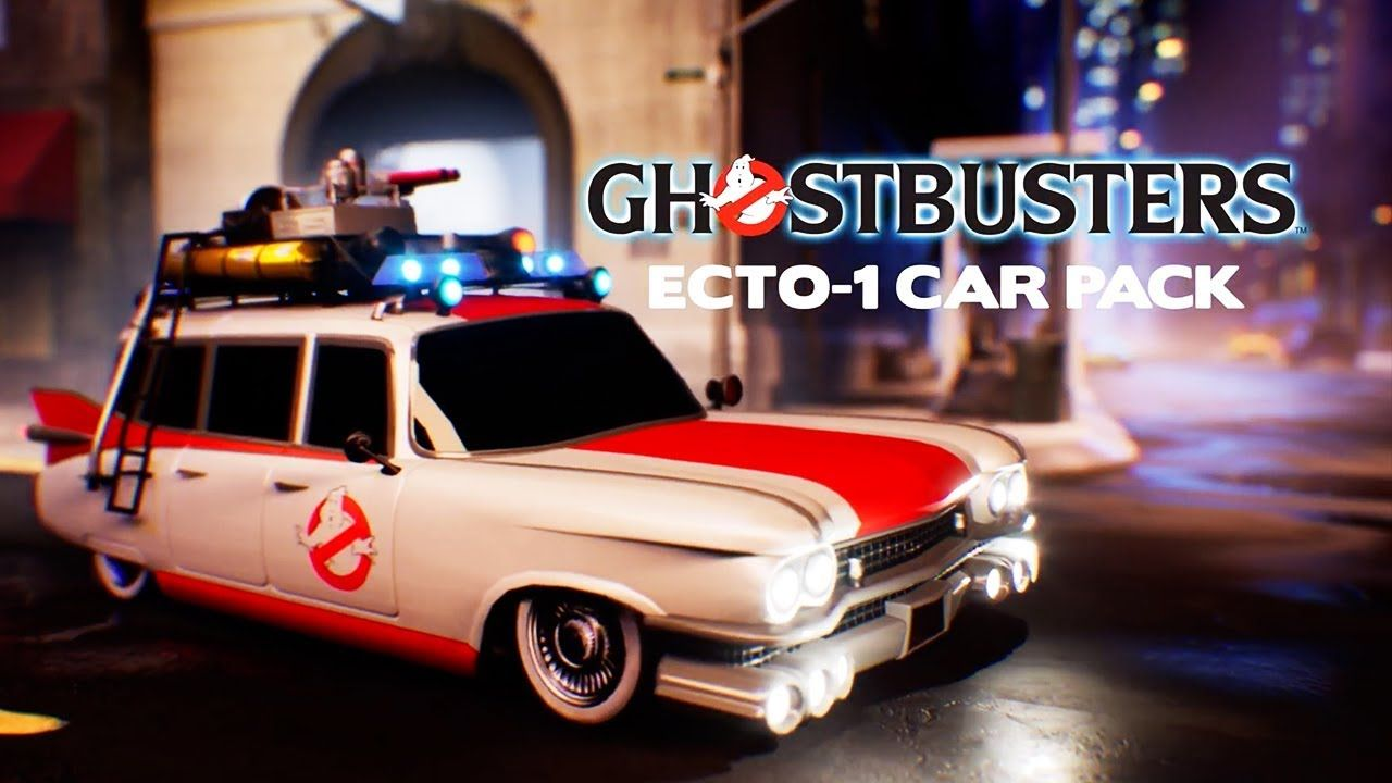Rocket League Ghostbusters Ecto1 Car Pack Official
