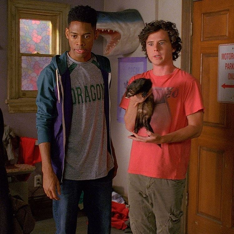 """""""Everybody say hi to Ferret Bueller!  #TheMiddle"""""""