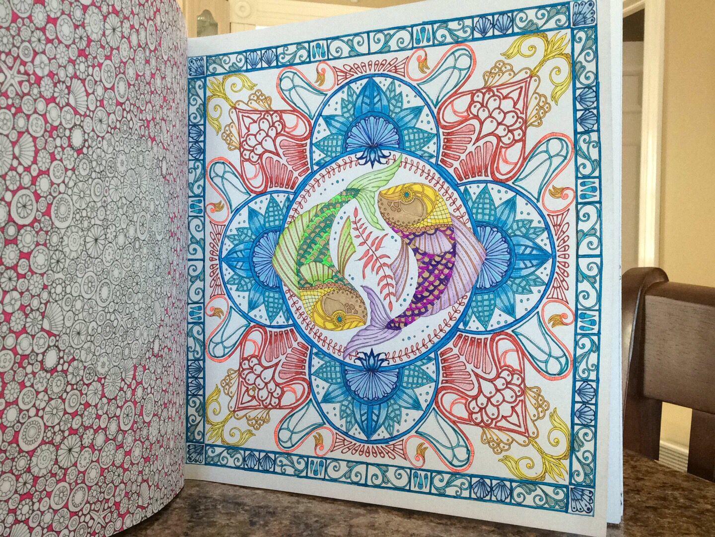 Lost Ocean Johanna Basford Coloring BookColoring