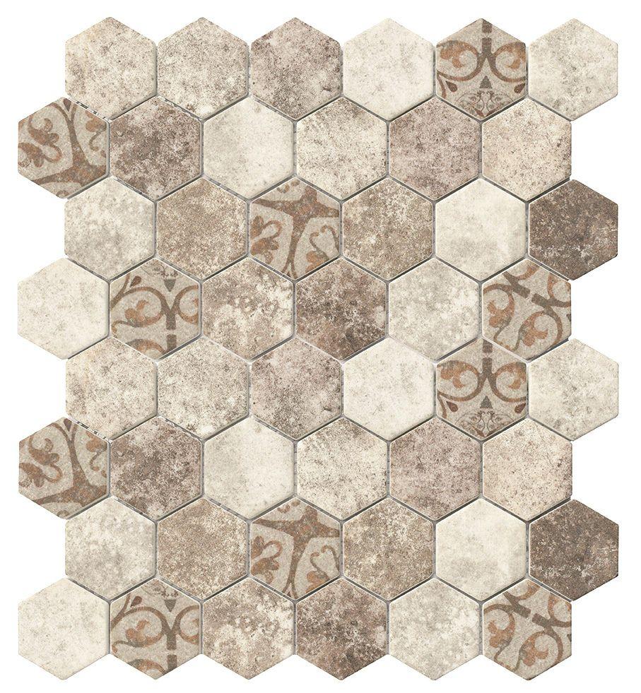 Tiles Recycled Hexagon Gl Tile