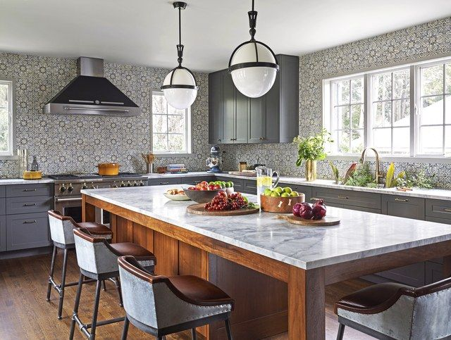 a classic yet edgy georgian home in westchester new york - Kitchen Cabinets Westchester Ny