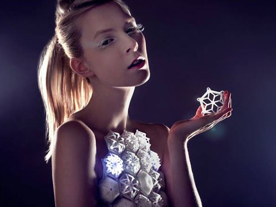 Introducing the world's first 3D-printed dress. If people across the Internet collaborated on a dress design, would it be threads worthy of Fashion Week?