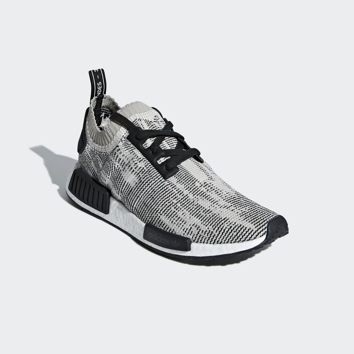 NMD_R1 Primeknit Shoes Grey 10.5 Mens | Nmd sneakers, Shoes