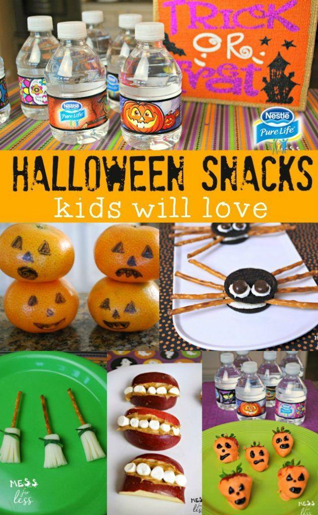 Easy Halloween Treats   Classroom halloween party, Easy halloween ...