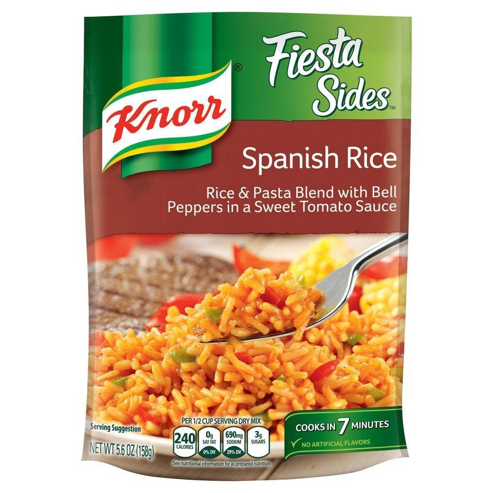 Knorr Fiesta Sides Dish Spanish Rice 5 6oz Spanish Rice Recipe Spanish Rice Rice Dishes Easy