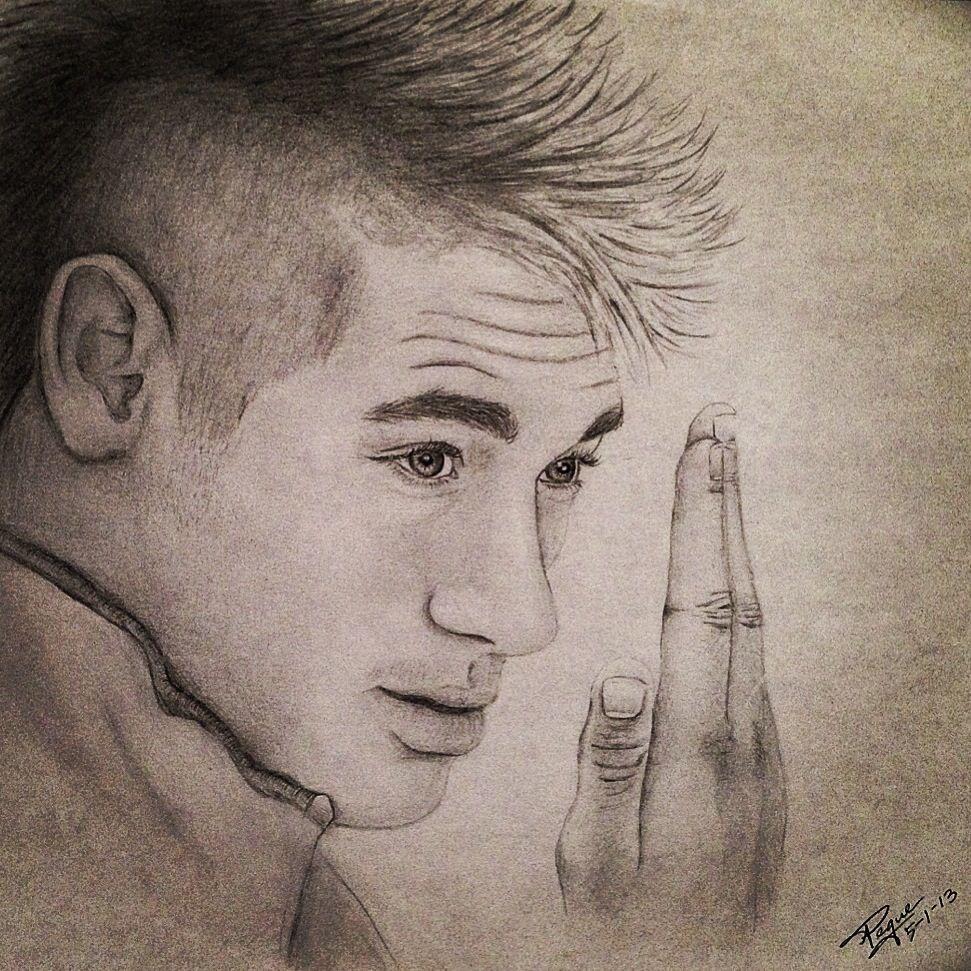 Neymar pencil drawing