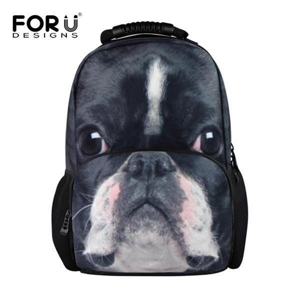 04e3b7bcf3 FORUDESIGNS Cool Animal Owl Wolf Backpacks Children 3D Printing School  Backpack for Teenagers Boys Men s Travel