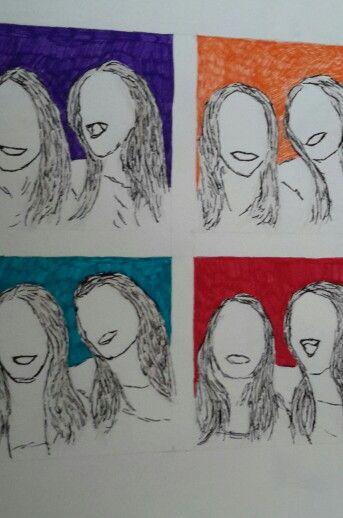 Colour faces