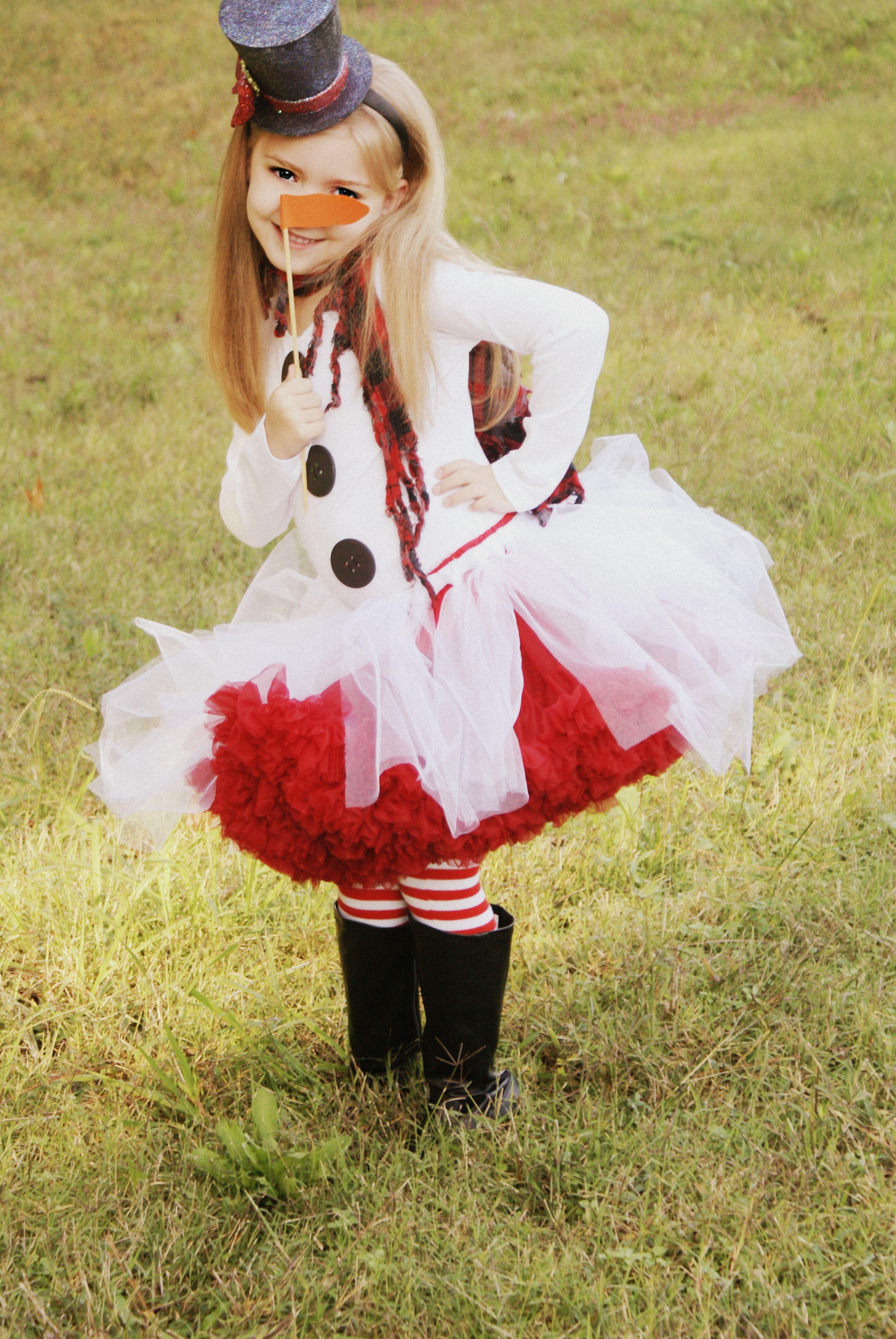 f374b18e3a15c OH SO CUTE Halloween outfit!!!!!!!! Little Miss Frosty...Snowman Tutu
