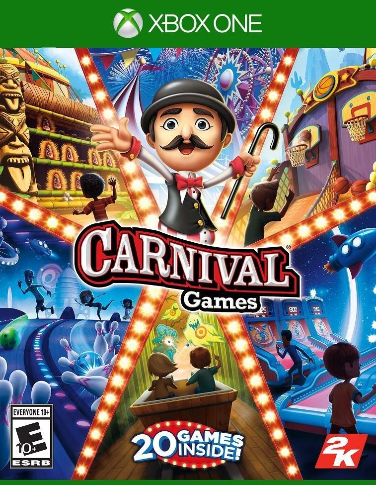 Buy Carnival Games By 2k For Xbox One At Gamestop Find Release Dates Customer Reviews Previews And More In 2020 Carnival Games Nintendo Switch Games Xbox One Games
