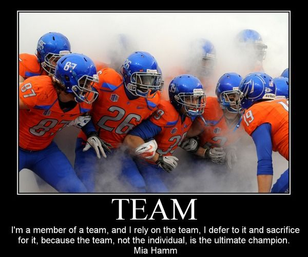 Motivational Quotes For Sports Teams: Team Building Innovations By