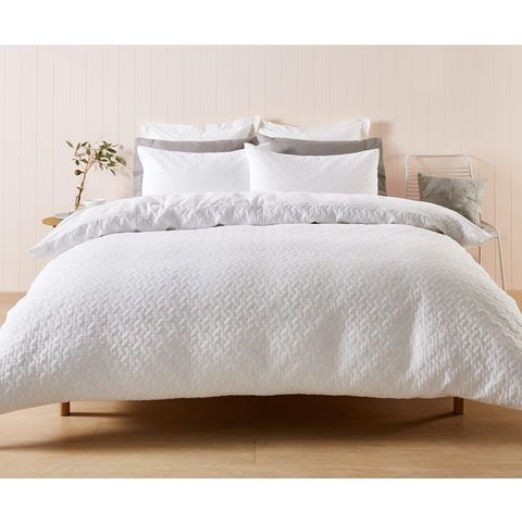 Zachery Quilt Cover Set King Bed White Quilt Cover Sets White Quilt Cover Quilt Cover