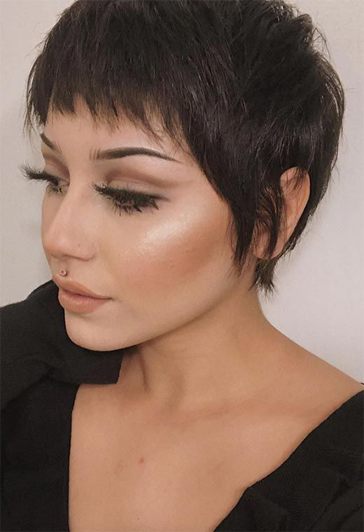 61 Extra-Cool Pixie Haircuts for Women to Try 61 E