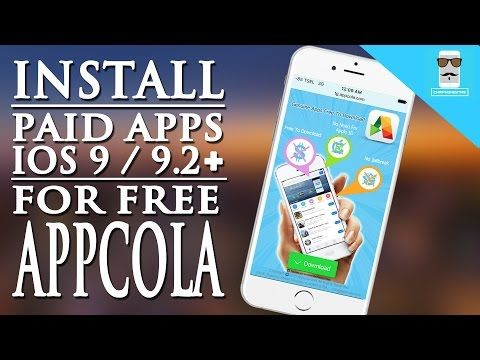 Update] Fixed Appcola for iOS 9 - 9 2 1 / 9 3 Get Paid Apps
