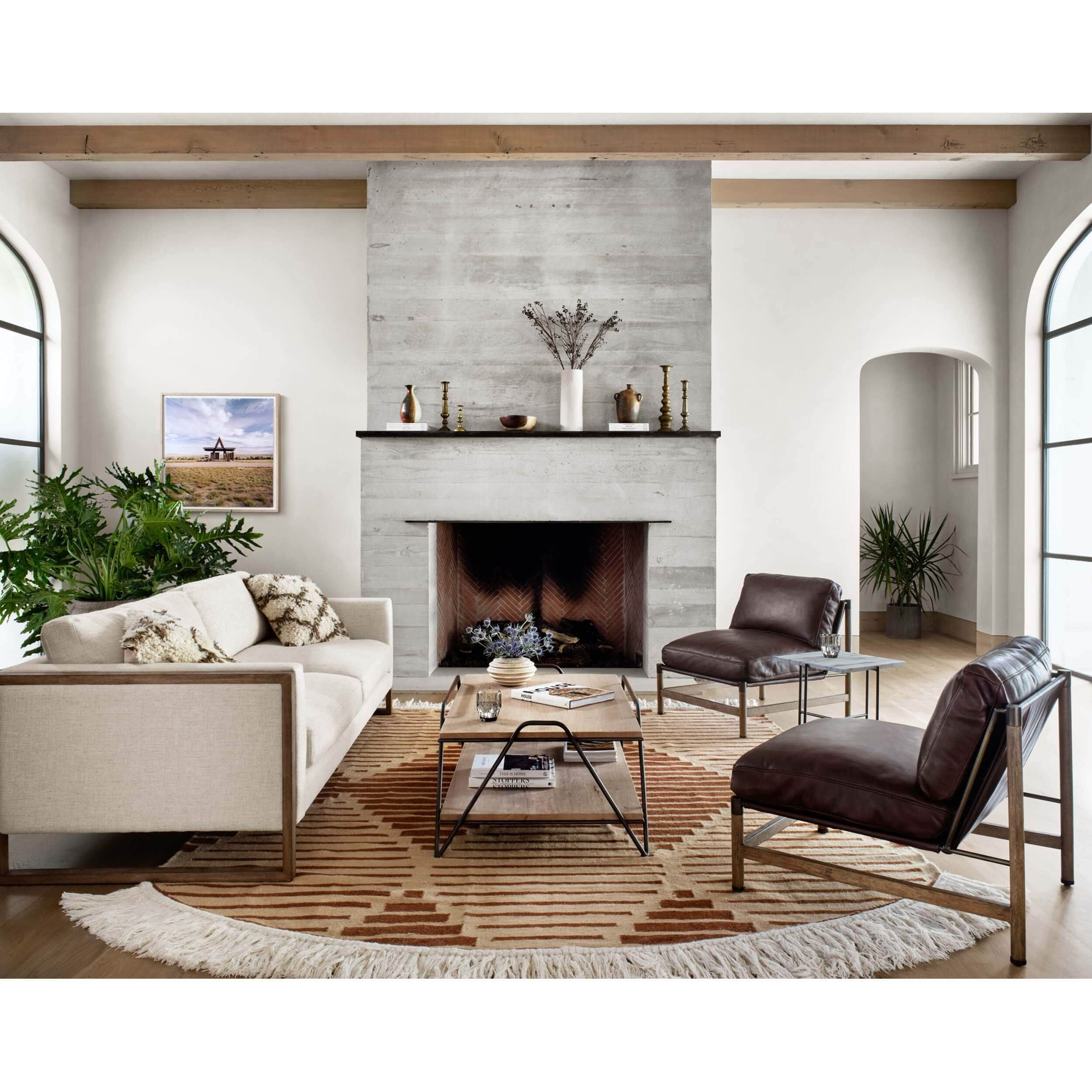 Garland Coffee Table In 2021 Iron Frame Coffee Table Furniture Sale Home [ 2500 x 2500 Pixel ]