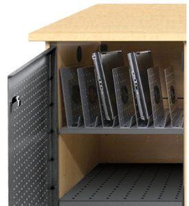 Laptop Cradles Set Of 7 For Laptop Storage Cabinets Pltc Lc K Log Storage Storage Cabinets Laptop Storage