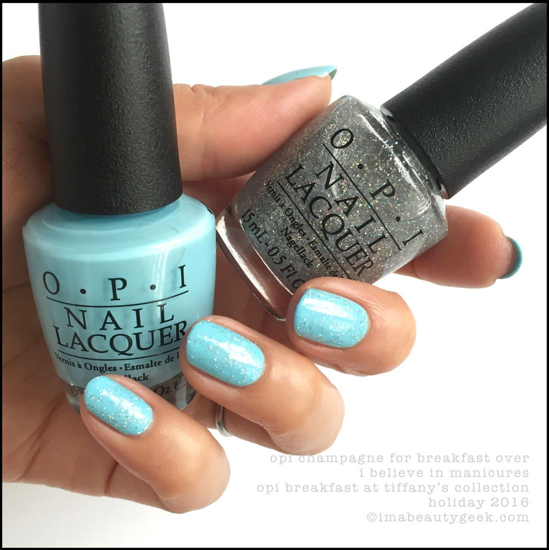 Opi breakfast at tiffanyus collection swatchesreview opi