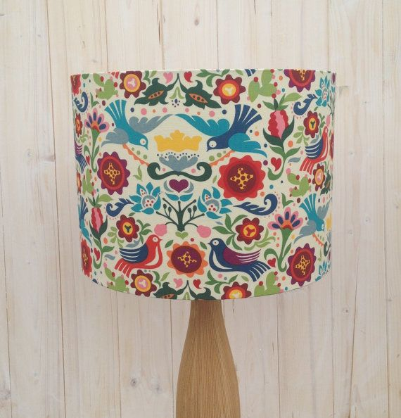 La Paloma Apartments: Only 1 Left***Bright And Cheerful Fabric Lampshade In