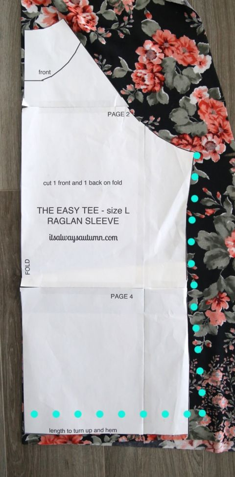 long sleeve raglan sweatshirt | Free pattern, Tutorials and Learning
