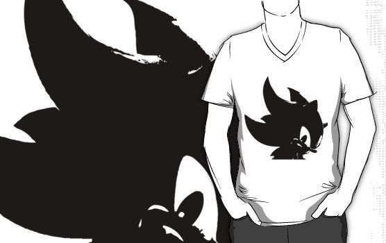 Shadow The Hedgehog TShirt Sonic The Hedgehog Apparel