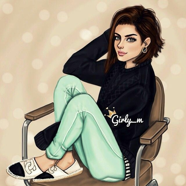 Pin By زوزو كيوت On رسومات Girly M Girly Art Girly Drawings