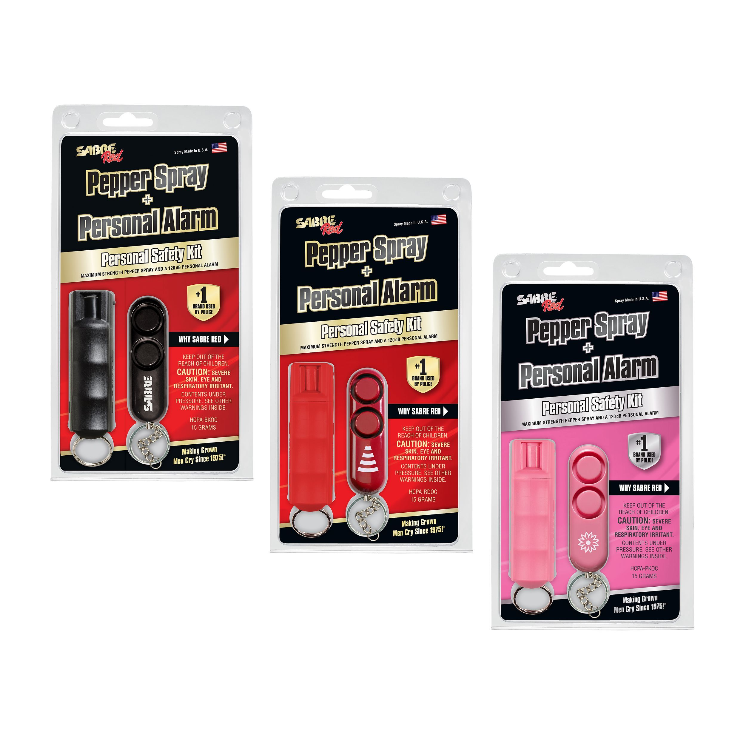 Pepper Spray with Personal Alarm Safety Kit Pepper spray