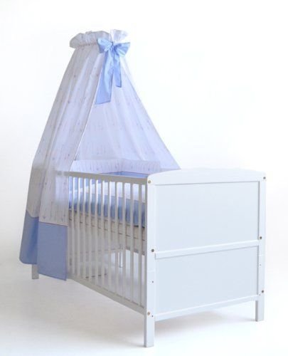 komplettbett 70x140 cm conny wei inkl bett set matratze und himmelstange von schardt http. Black Bedroom Furniture Sets. Home Design Ideas